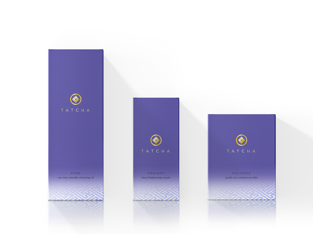In the brand concept stage of Tatcha's creation, I designed the trademark and package design assets including seal, label and box.